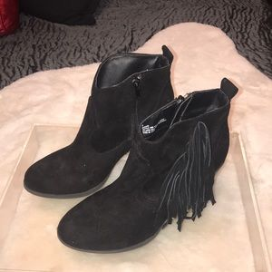 Madden Girl Leather ankle boots